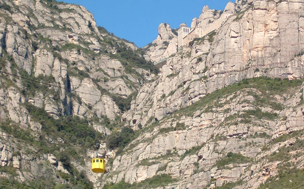 Cable car of Montserrat: Closed for maintenance
