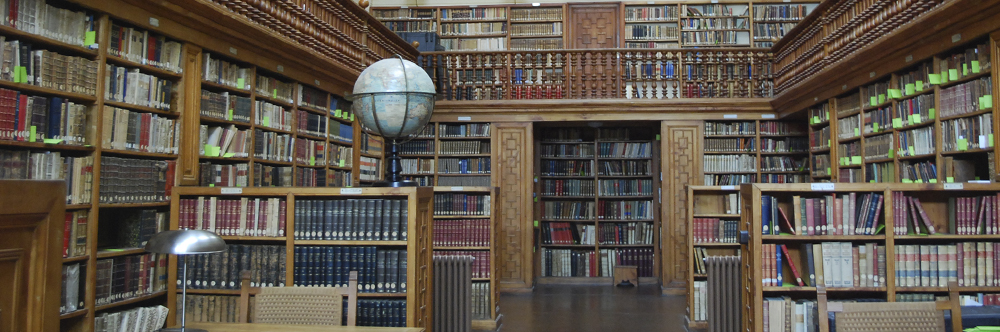 Die Bibliothek von Montserrat