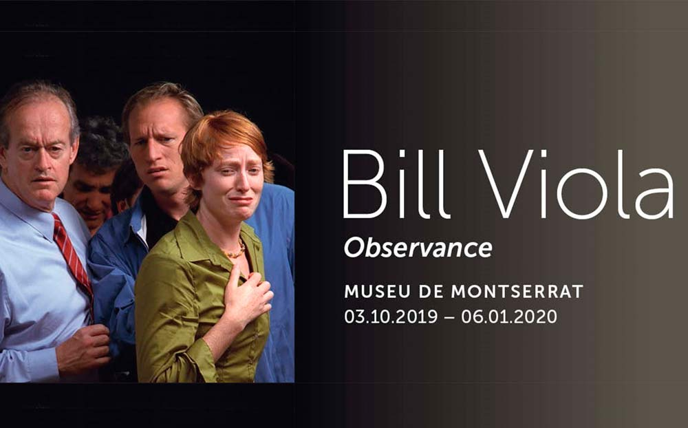 Bill Viola at the Museum of Montserrat
