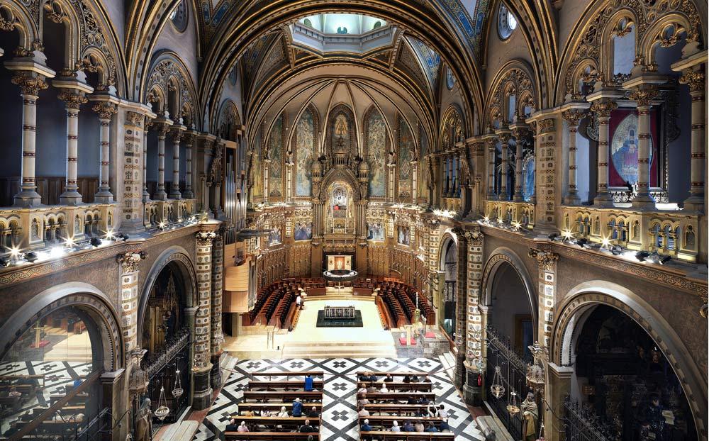 Montserrat's Monastery's announcement