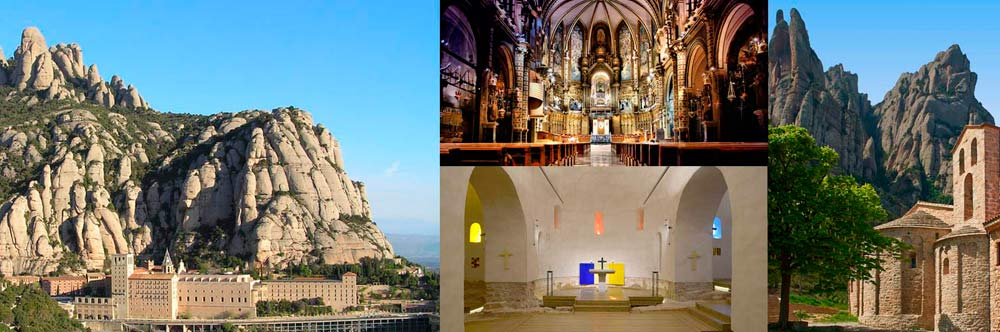 Early visit Montserrat & Santa Cecilia Church
