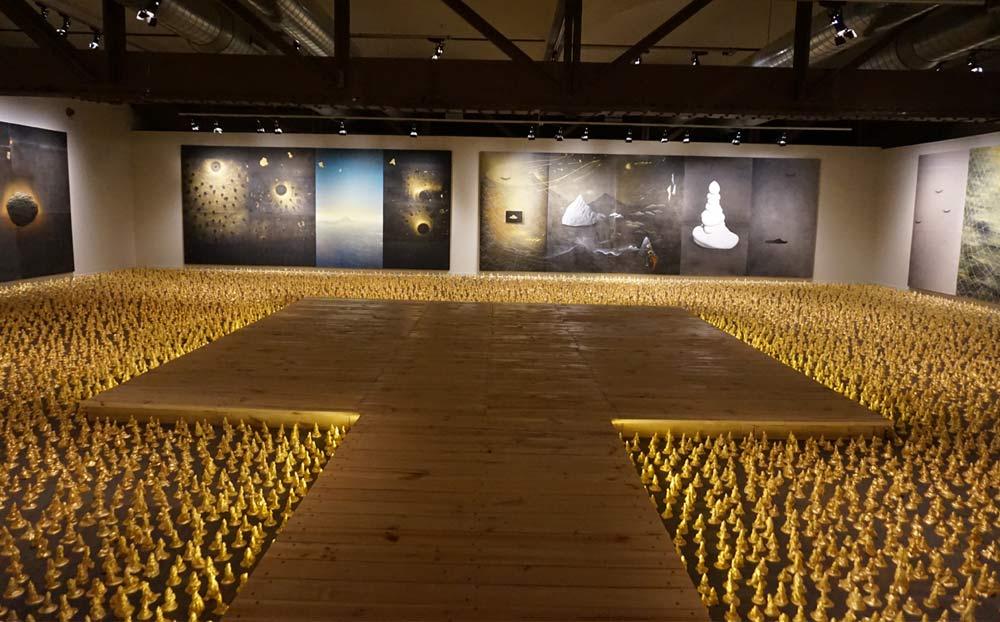 Exposición de Jordi Fulla en el Museo de Montserrat