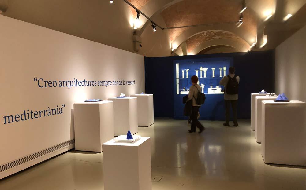 Ceramicist Maria Bofill at Montserrat's Museum