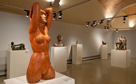 Josep Maria Subirahcs retrospective in Montserrat's Museum