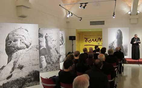 'Les temptacions' de Lluís Hortalà al Museu de Montserrat