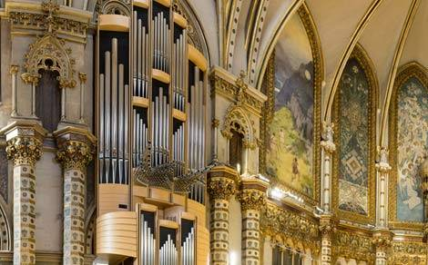 VI International Organ Festival in Montserrat