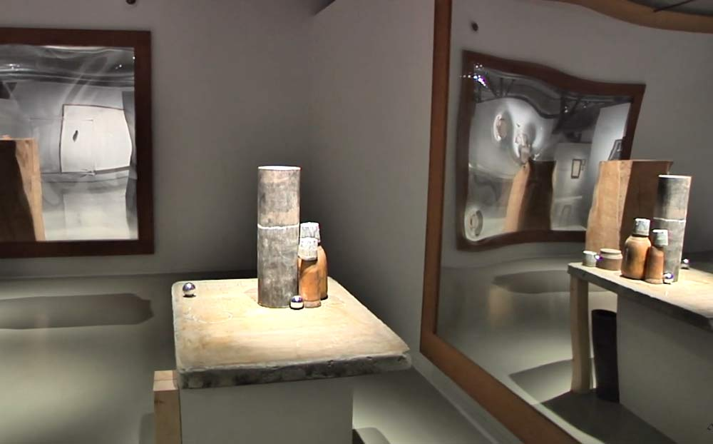 Jordi Alcaraz al Museo de Montserrat