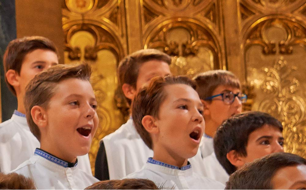 The Boys' Choir of Montserrat will not sing on 23rd of January