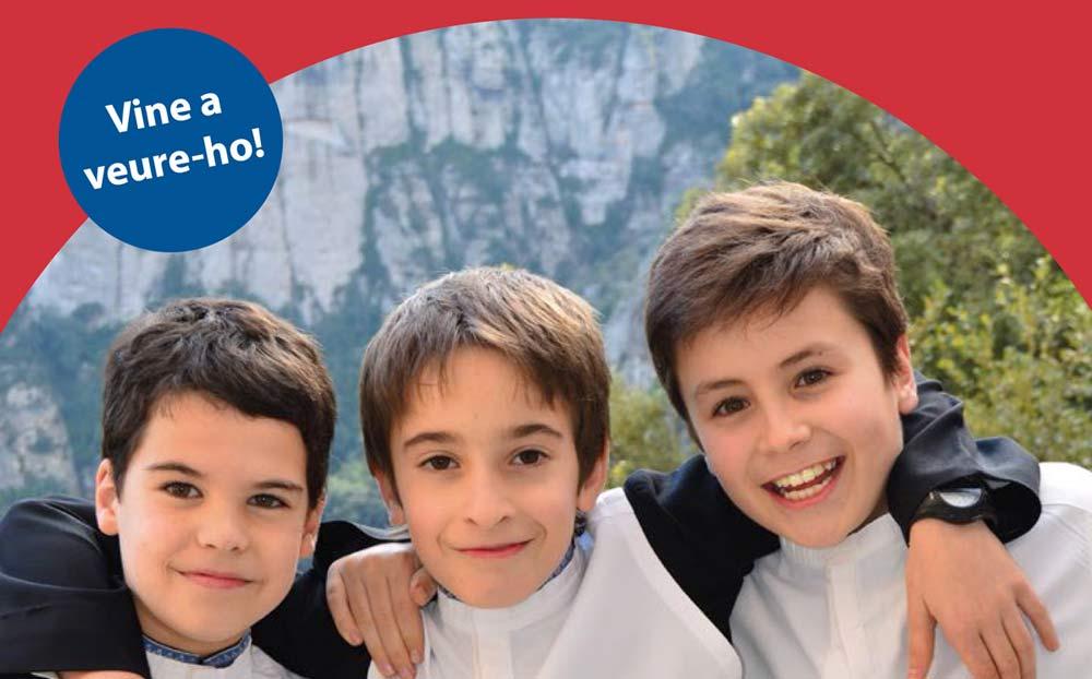 L'Escolania obre les portes als escolans del futur.