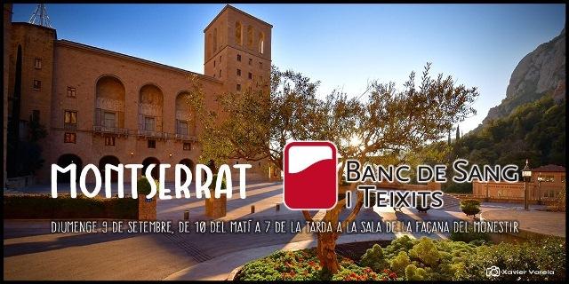 Maratón de donación de sangre en Montserrat