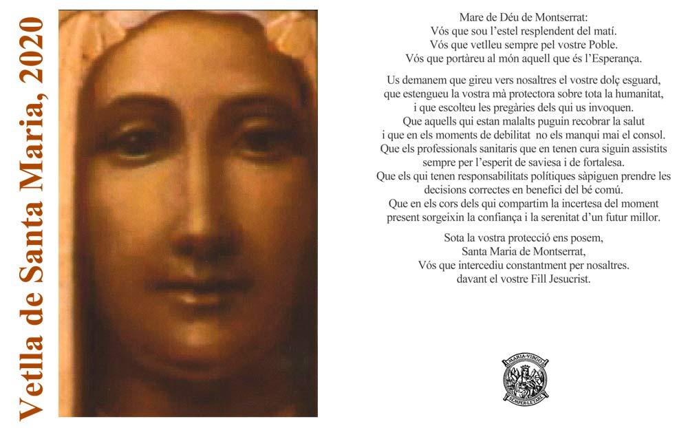 Montserrat celebra una Vetlla de Santa Maria i una festa de la Mare de Déu excepcionals