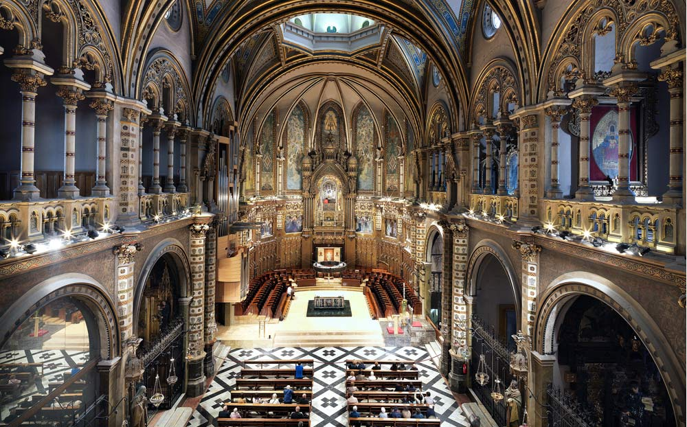 Montserrat facilita la visita al Santuario con un nuevo sistema gratuito de reservas