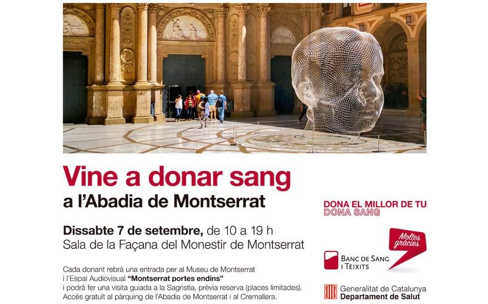 Nova marató de donació de sang a Montserrat