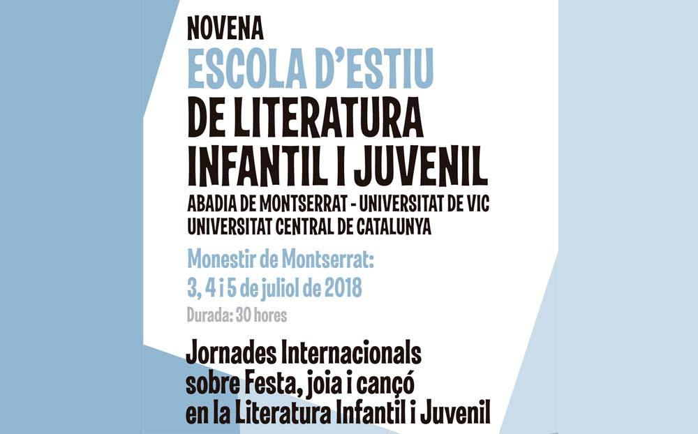 Novena Escola d'Estiu de Literatura Infantil i Juvenil