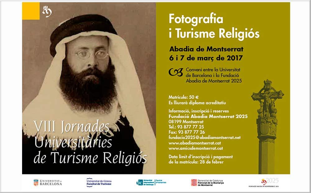 VIII Jornades de Turisme Religiós