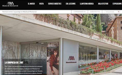 Web del Museo di Montserrat