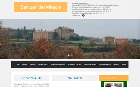Site do santuário El Miracle